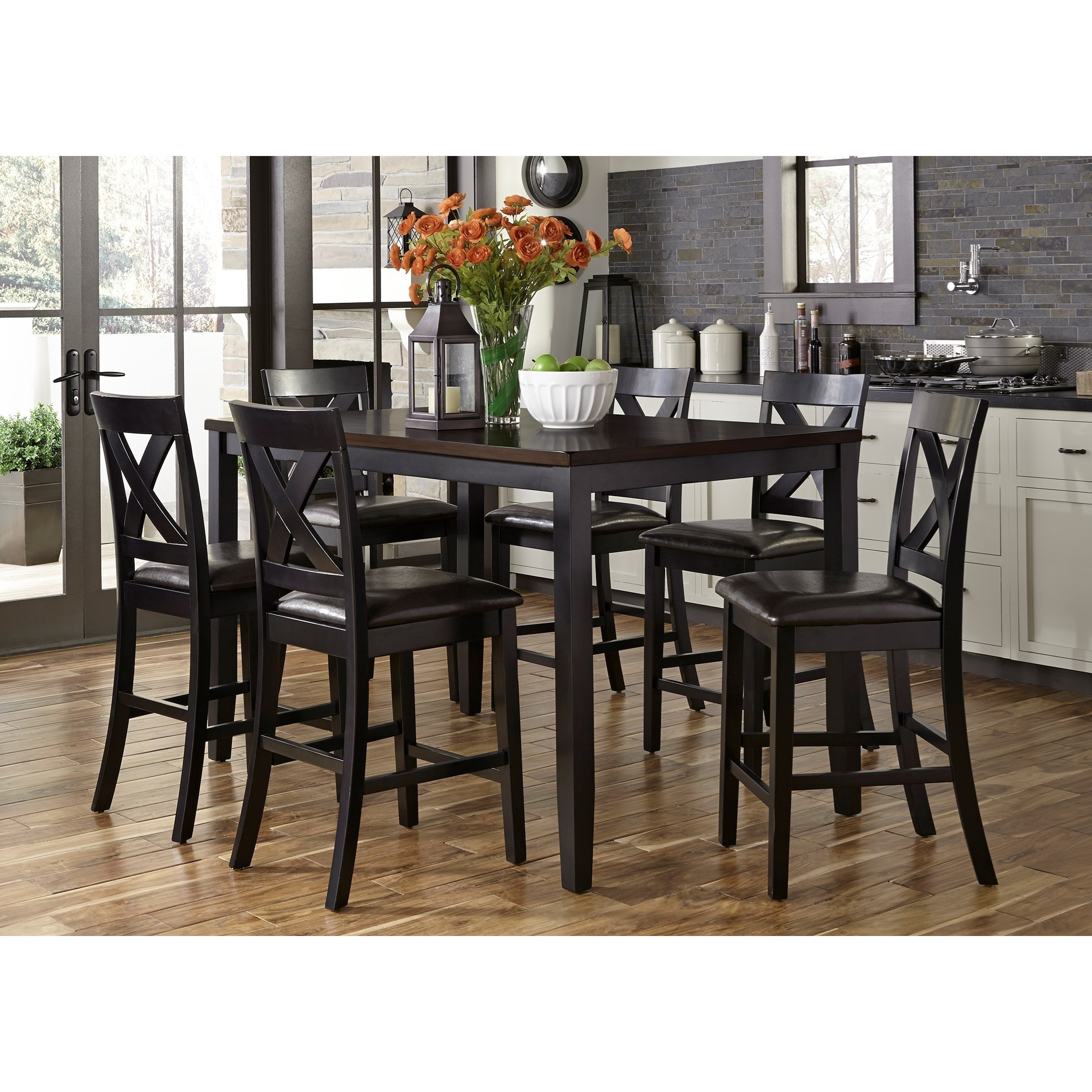 Liberty Furniture Thornton7 Piece Gathering Table Set  sc 1 st  Dinette Depot & Liberty Furniture Thornton 7 Piece Gathering Table Set | Dinette ...