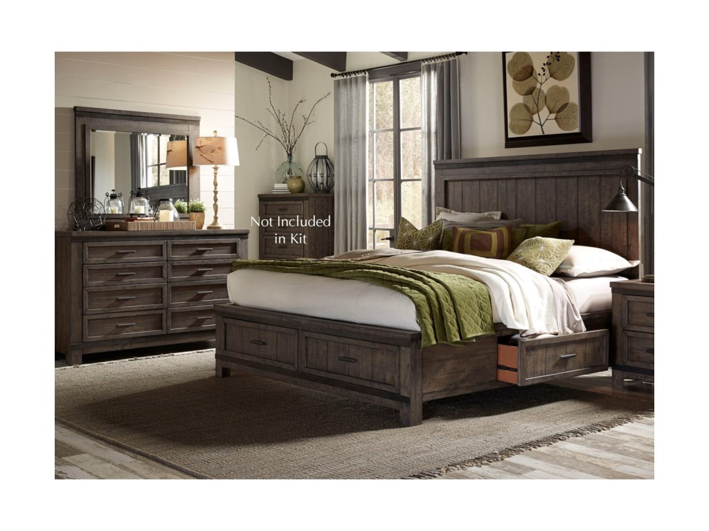 Sarah Randolph Designs Thornwood HillsQueen Bedroom Group