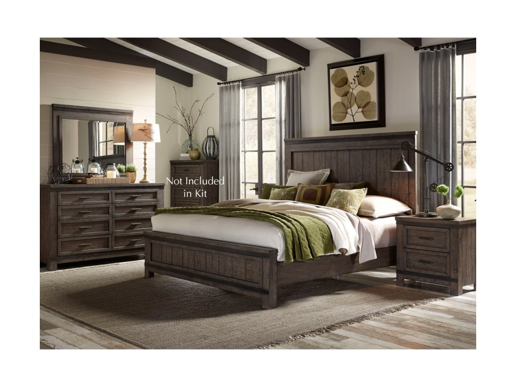 Liberty Furniture Thornwood HillsQueen Bedroom Group