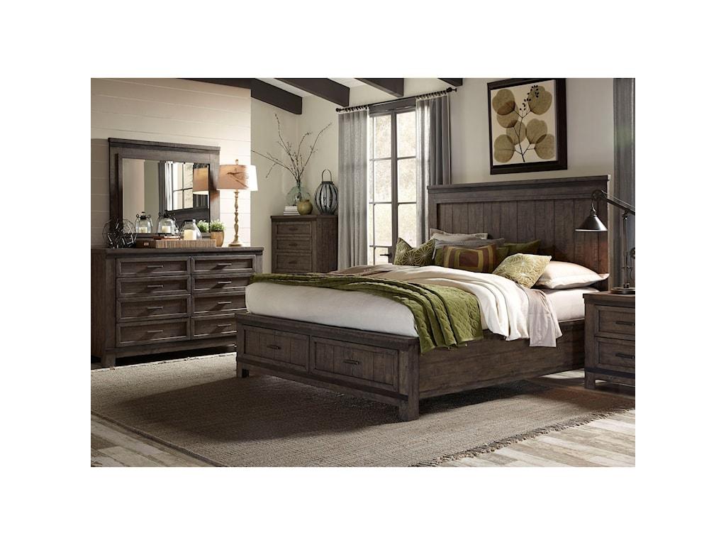 Liberty Furniture Thornwood HillsKing Bedroom Group