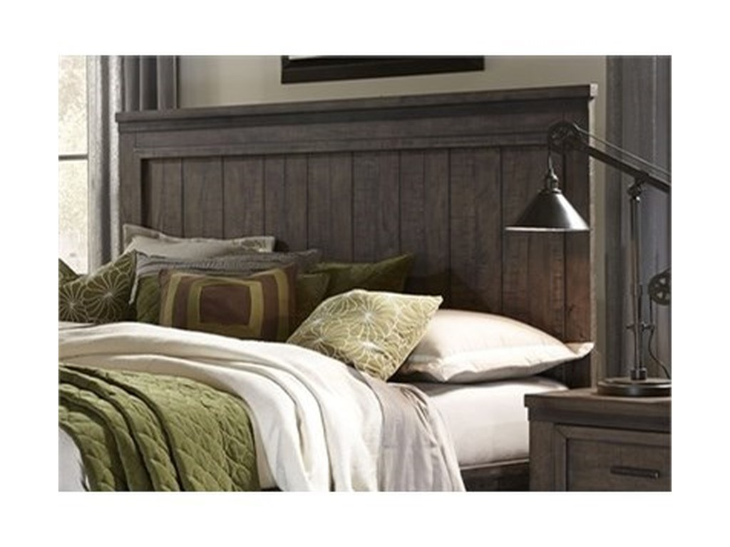 Liberty Furniture Thornwood HillsKing Panel Headboard