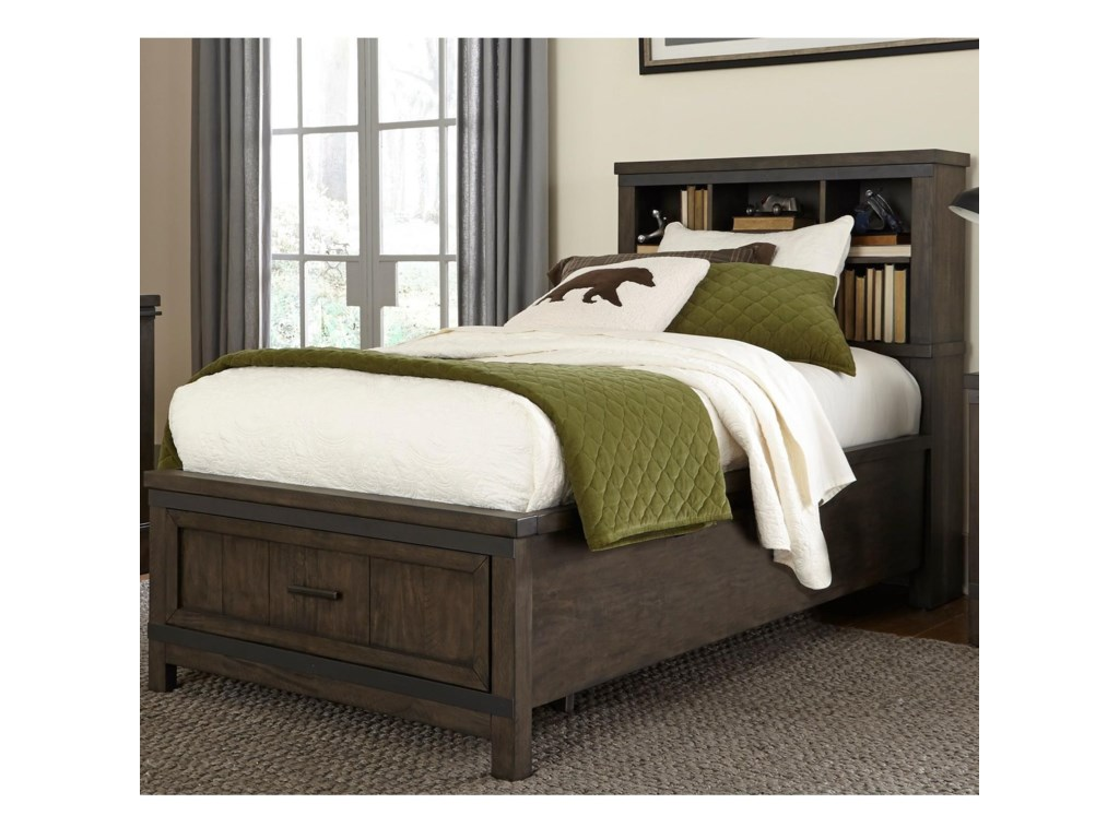 Liberty Furniture Thornwood HillsFull Bookcase Bed