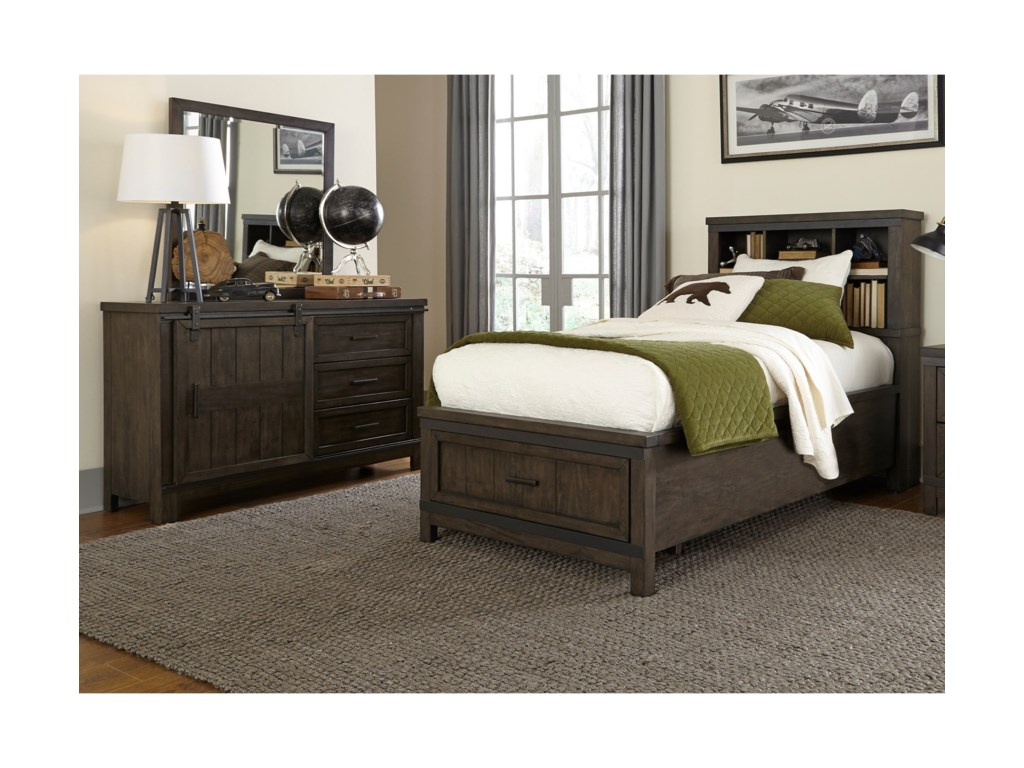 Liberty Furniture Thornwood HillsTwin Bedroom Group