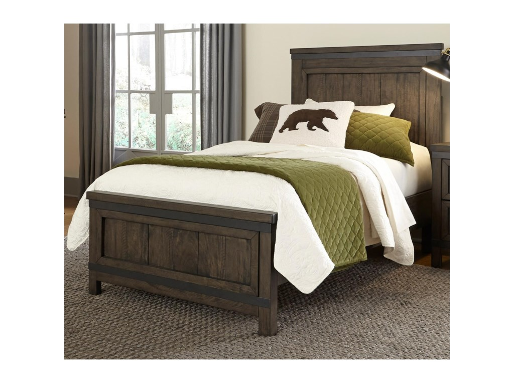 Liberty Furniture Thornwood HillsTwin Panel Bed