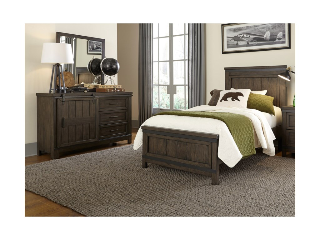 Vendor 5349 Thornwood HillsTwin Bedroom Group