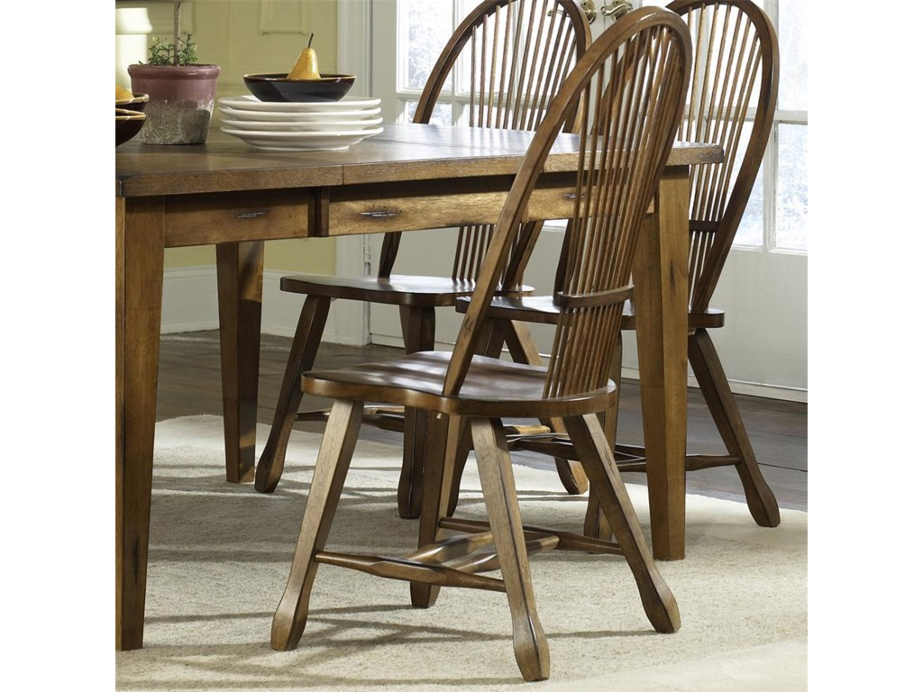 Liberty Furniture Treasures Sheaf Back Side Chair