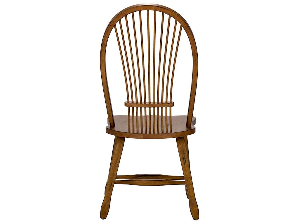 Liberty Furniture Treasures Sheaf Back Side Chair