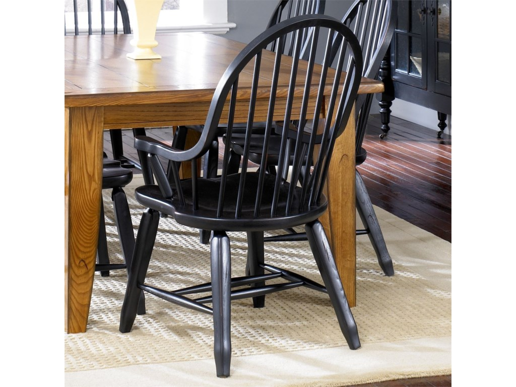 Liberty Furniture Treasures Bow Back Arm Chair