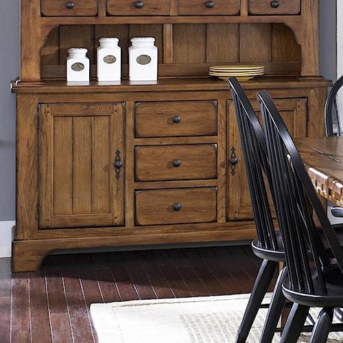 Liberty Furniture Treasures  2 Door Dining Buffet