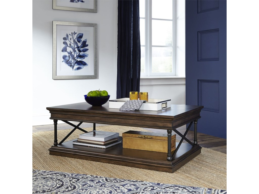 Liberty Furniture TribecaRectangular Cocktail Table