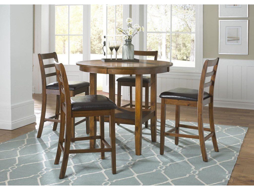 Tucson Dining II 5 Piece Pub Table Set By Liberty Furniture