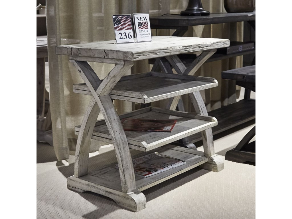 Liberty Furniture Twin OaksShelf End Table