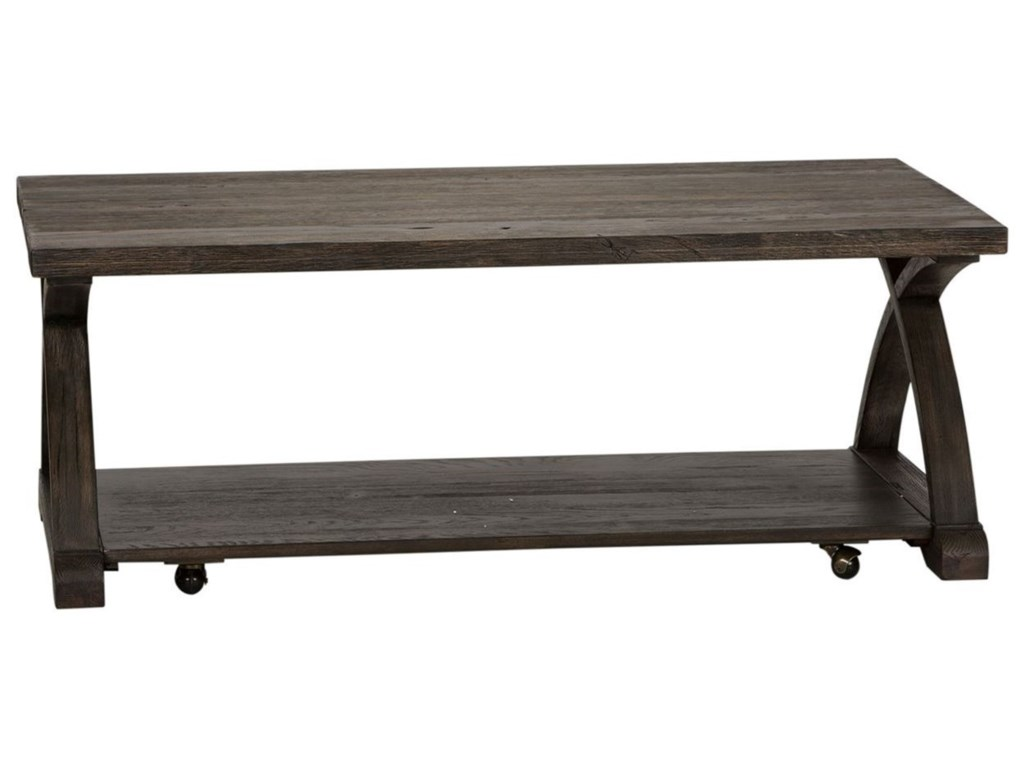 Liberty Furniture Twin OaksCocktail Table