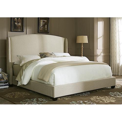 Upholstered Beds King Upholstered Shelter Bed Rotmans