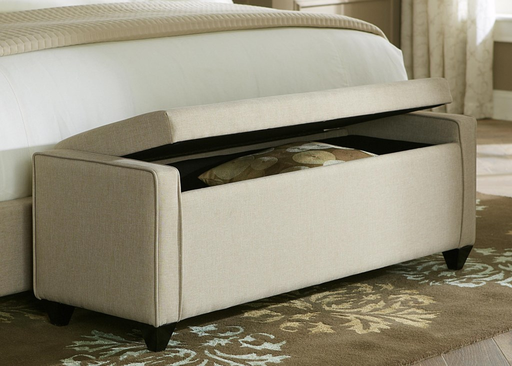 liberty furniture upholstered beds lift top bed bench royal
