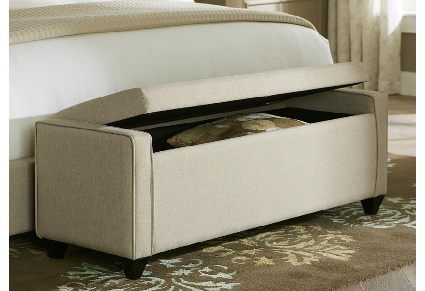 Upholstered Beds Lift Top Bed Bench by Liberty Furniture at Northeast  Factory Direct