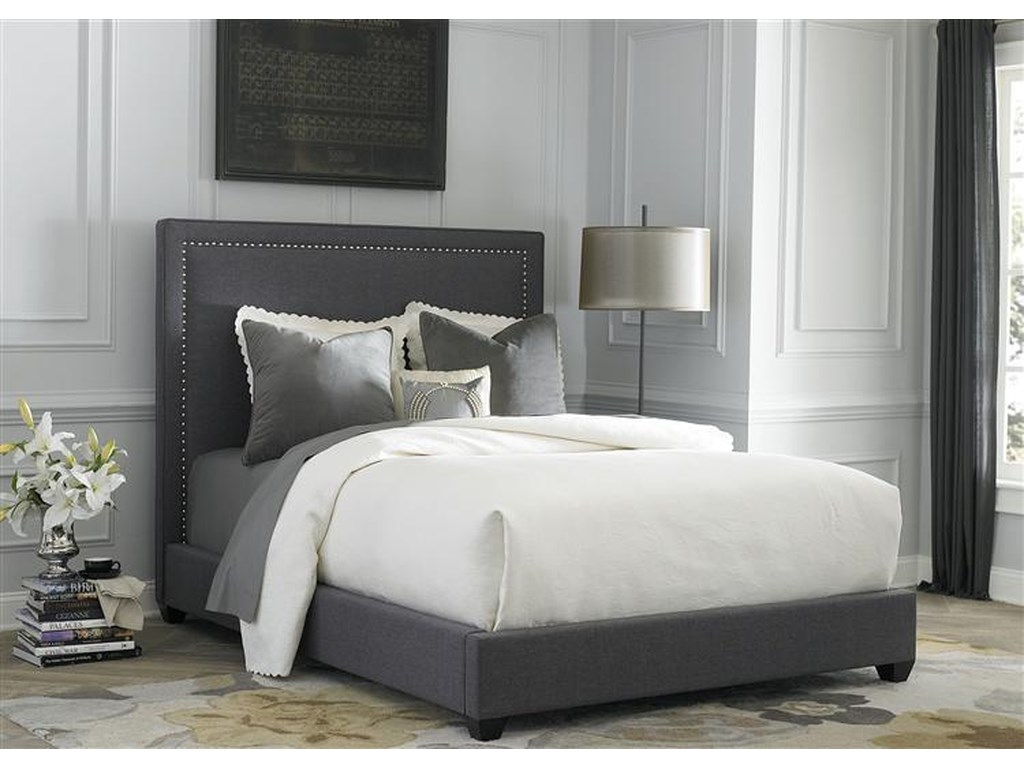 Liberty Furniture Upholstered BedsKing Panel Bed