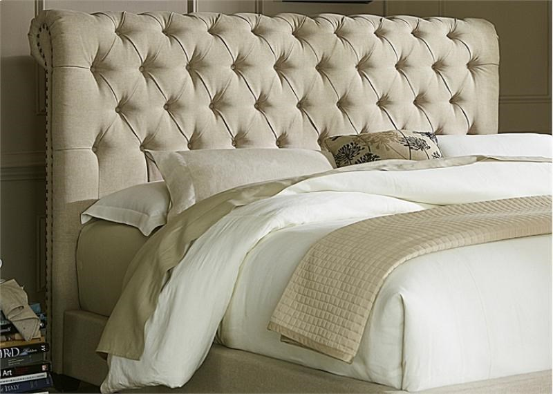Upholstered Beds King Chesterfield Sleigh Headboard Rotmans