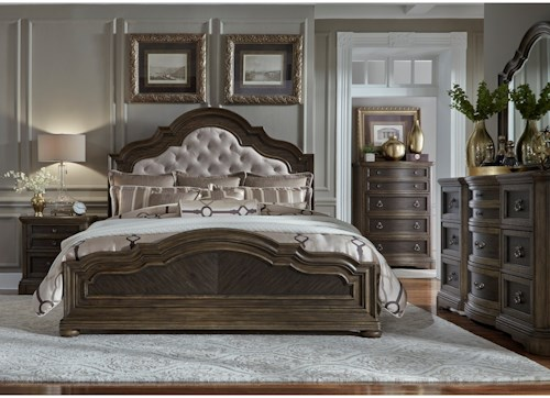 Liberty Furniture Valley Springs King Bedroom Group