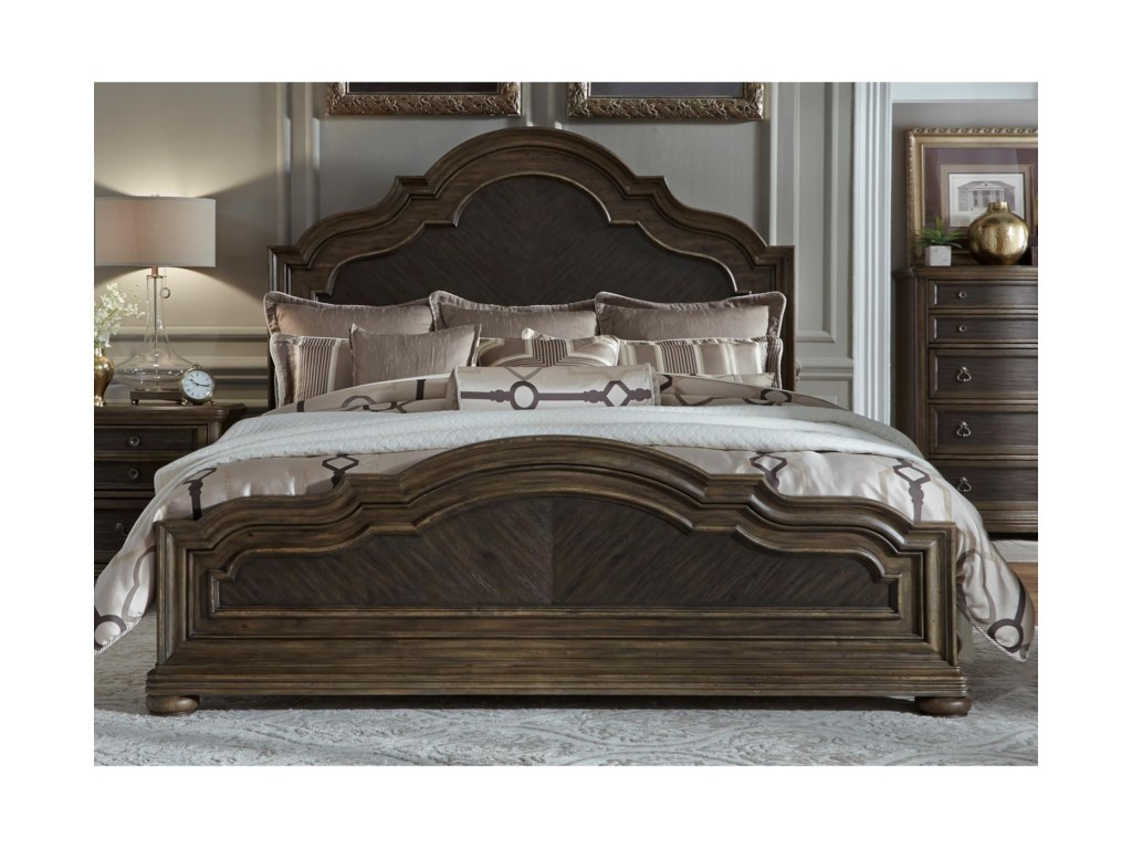 Liberty Furniture Valley SpringsKing Panel Bed