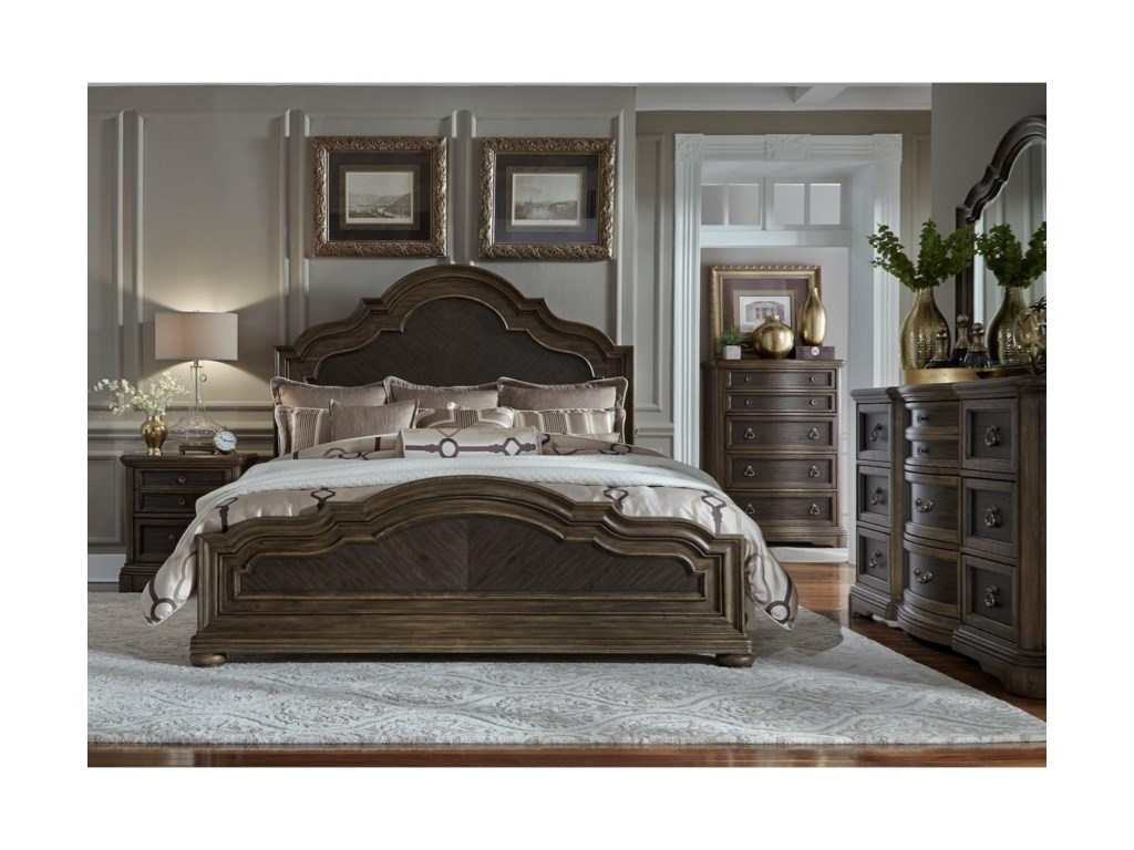Liberty Furniture Valley SpringsQueen Bedroom Group