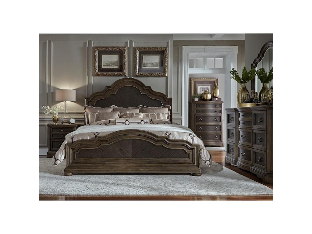 Liberty Furniture Valley SpringsQueen Bedroom Group