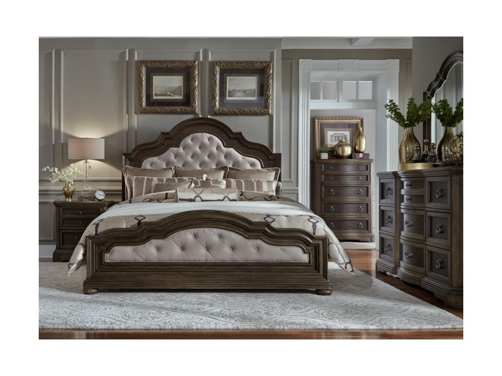 Liberty Furniture Valley SpringsKing Bedroom Group