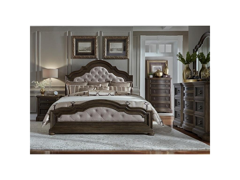 Liberty Furniture Valley SpringsKing Bedroom Group