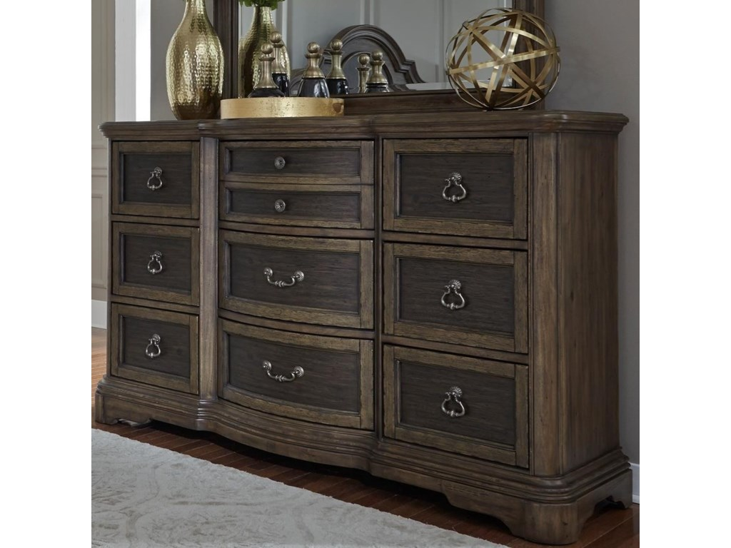 Liberty Furniture Valley Springs9 Drawer Dresser