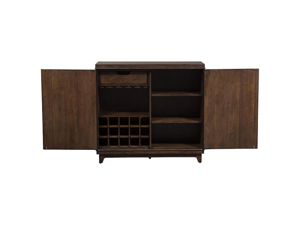 Liberty Furniture Ventura BoulevardWine Cabinet