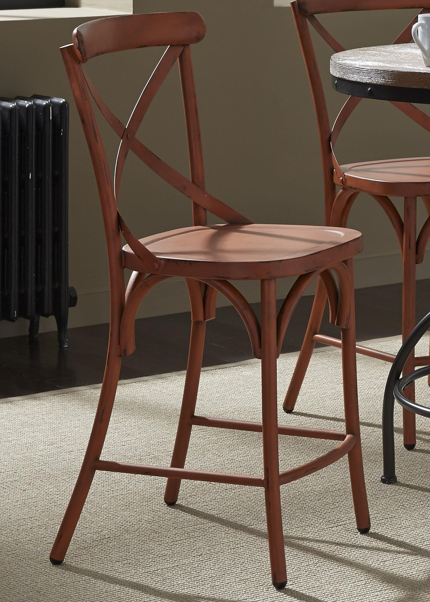 Liberty Furniture Vintage Dining SeriesX Back Counter Chair