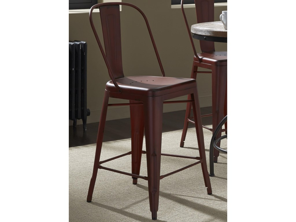 Liberty Furniture Vintage Dining SeriesBow Back Counter Chair