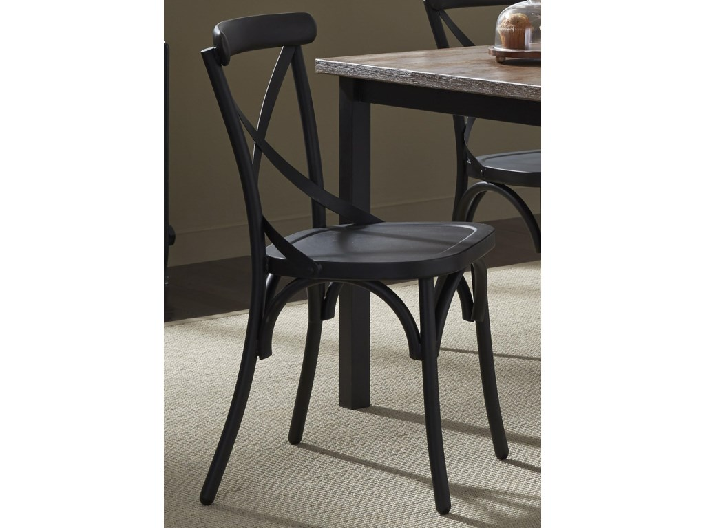 Liberty Furniture Vintage Dining SeriesX-Back Dining Side Chair
