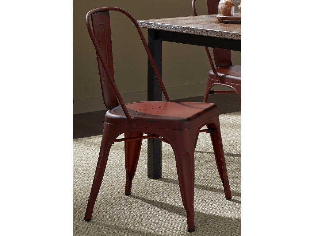 Liberty Furniture Vintage Dining SeriesBow Back Dining Side Chair