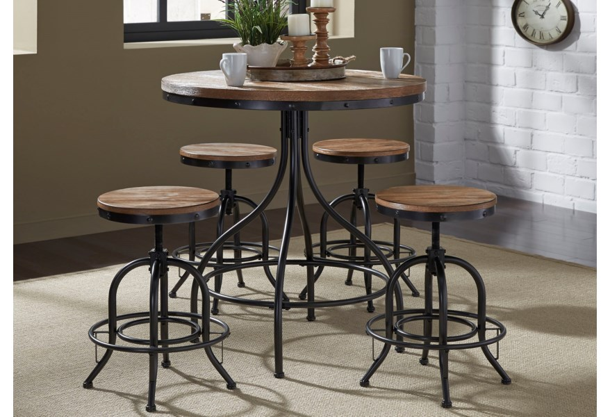 5 Piece Counter Height Pub