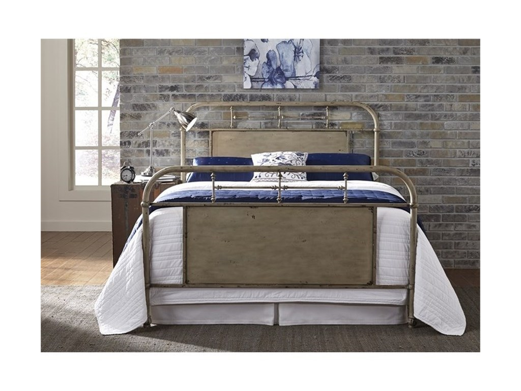 Liberty Furniture Vintage SeriesTwin Metal Bed