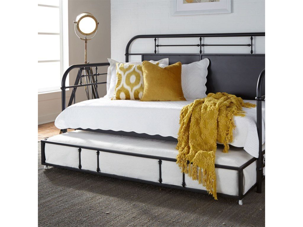 Liberty Furniture Vintage SeriesTwin Metal Daybed with Trundle