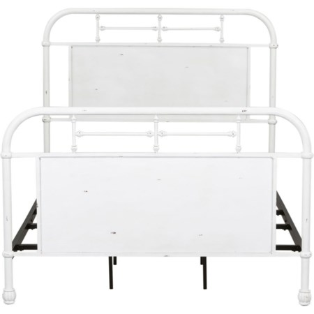 King Metal Bed