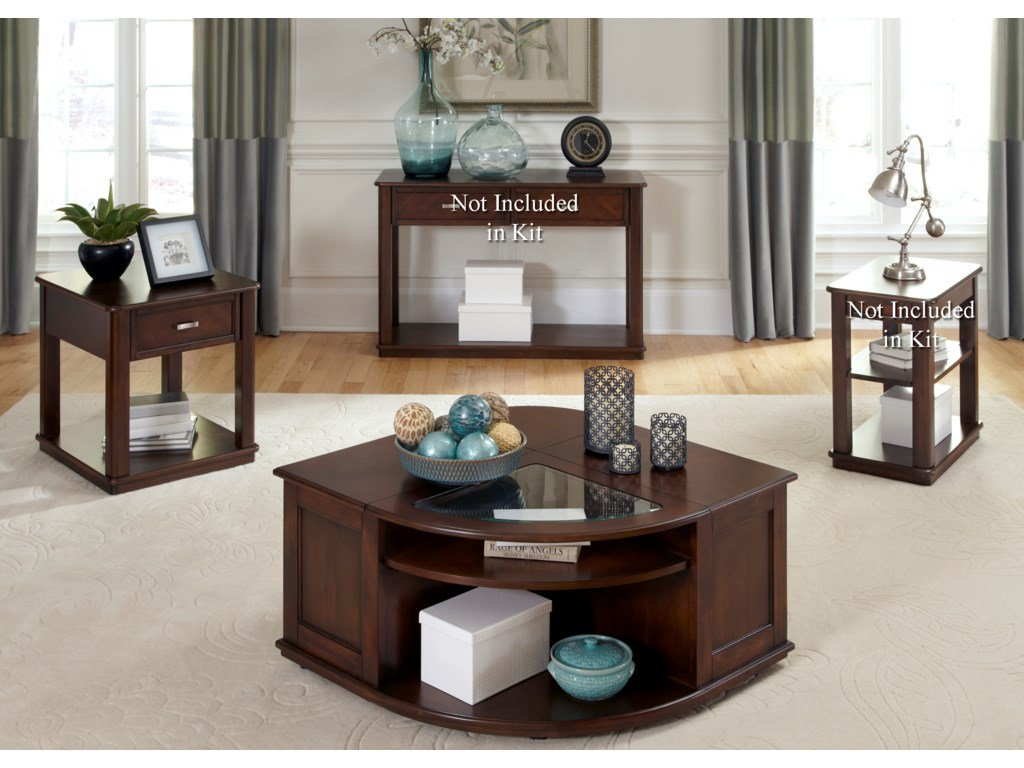 Liberty Furniture Wallace3 Piece Occasional Table Set