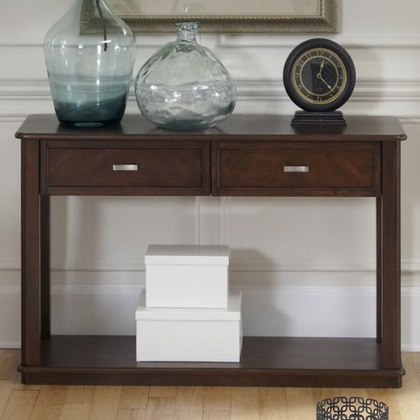 Liberty Furniture Wallace Casual Sofa Table With 2 Drawers
