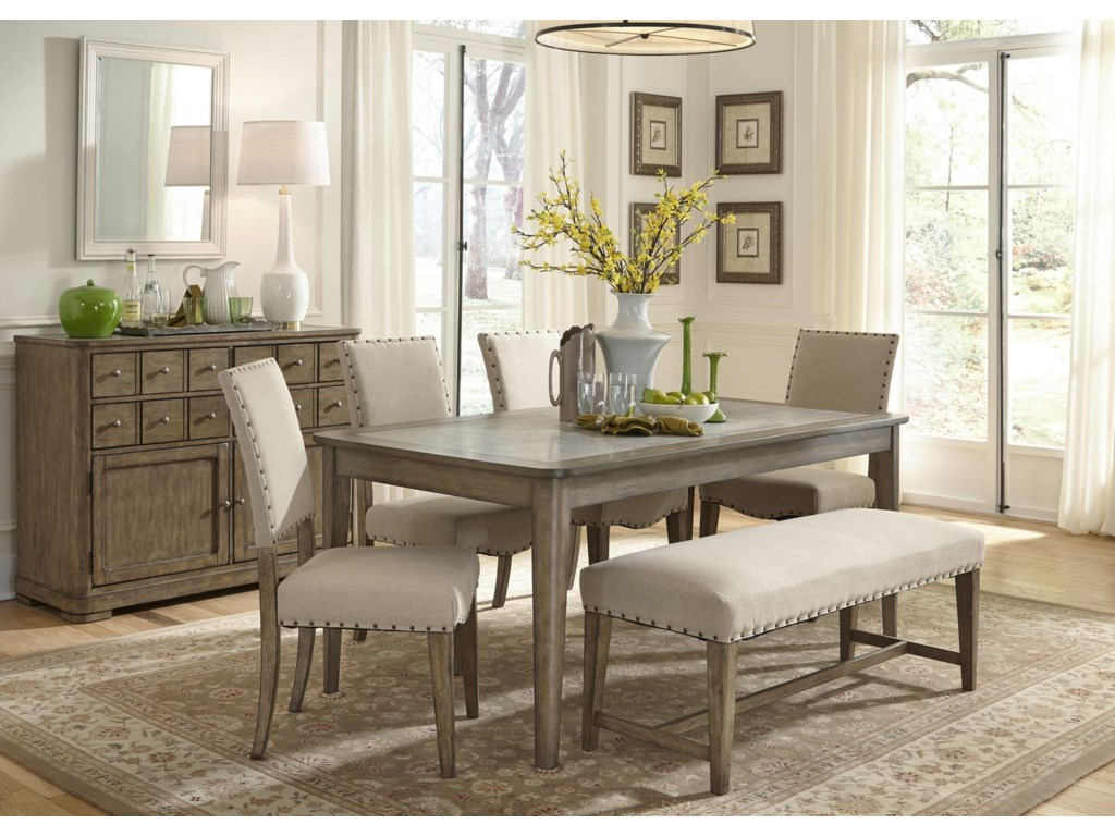 Liberty Furniture Weatherford Upholstered Bench