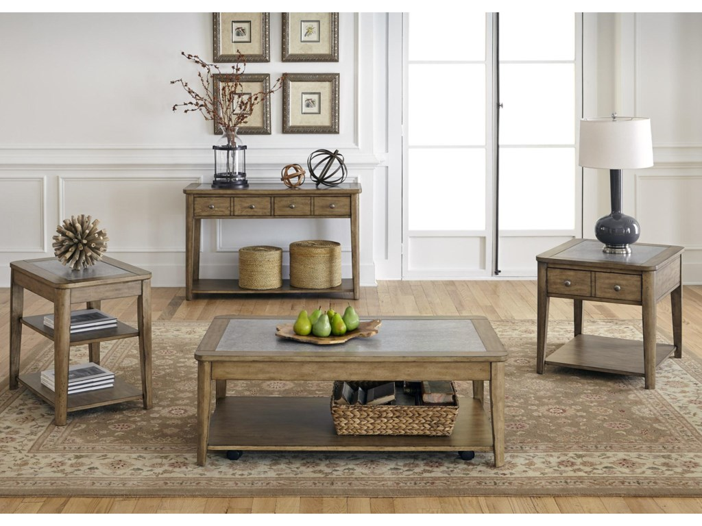 Liberty Furniture Weatherford Cocktail Table