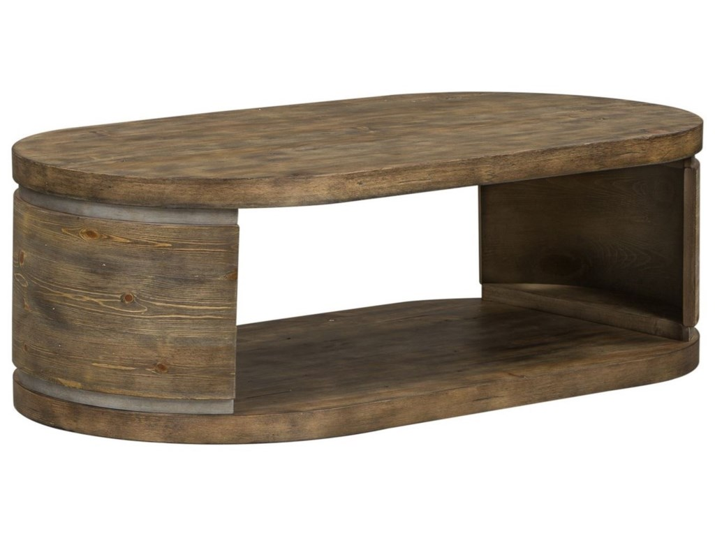 Liberty Furniture West EndOval Cocktail Table