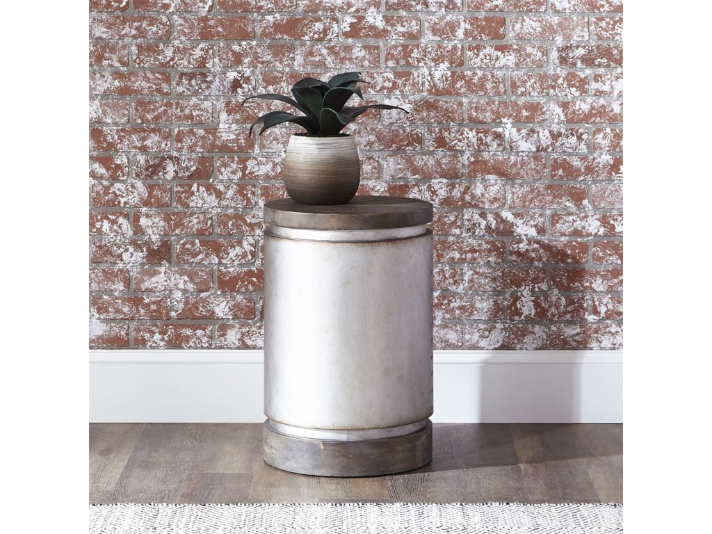 Liberty Furniture West EndDrum End Table