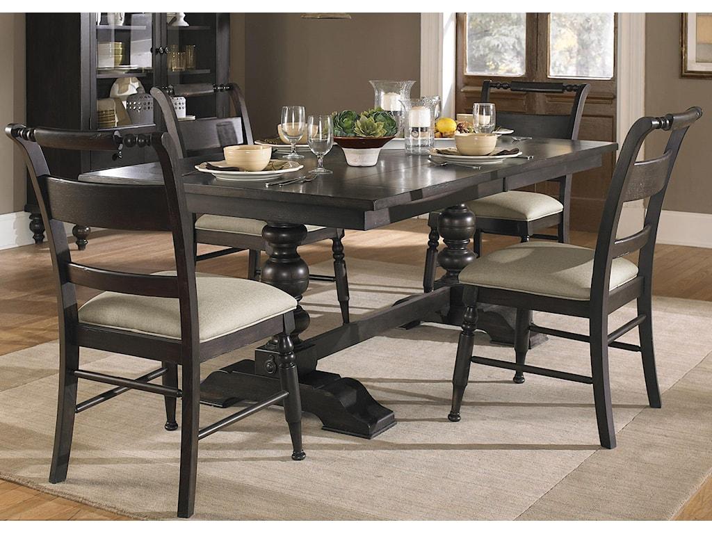 Liberty Furniture Whitney5 Piece Trestle Table Set