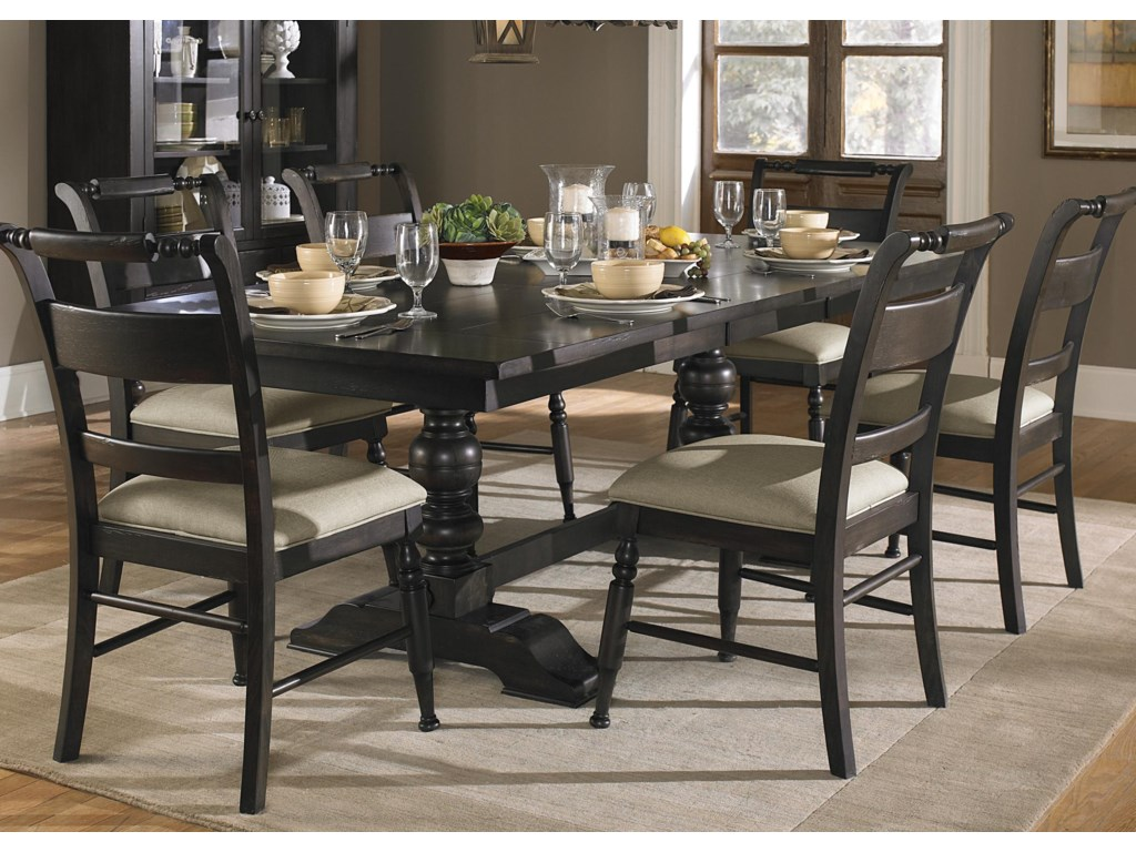 Liberty Furniture WhitneyTrestle Table