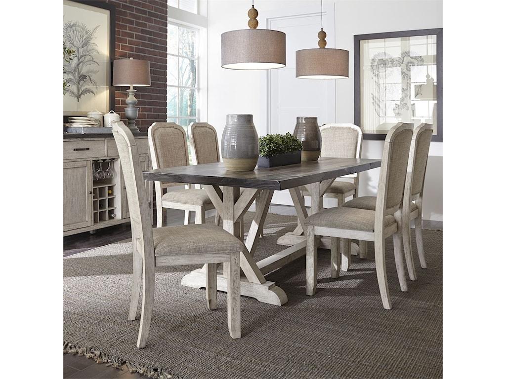 Vendor 5349 WillowrunTrestle Table