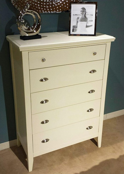 Lifestyle Jillian Chest of Drawers with 5 Drawers