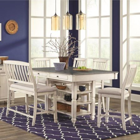 6-Piece Pub Table Set