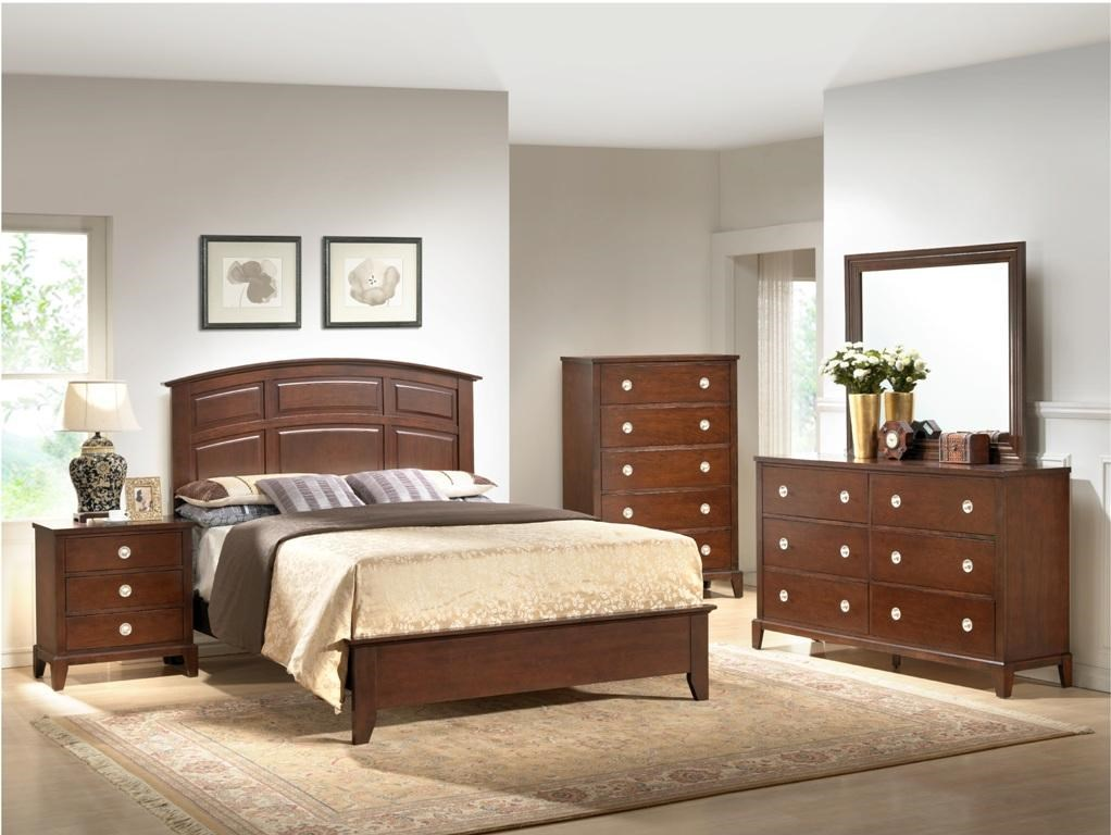 Shown with Panel Bed, Chest, Dresser, & Mirror